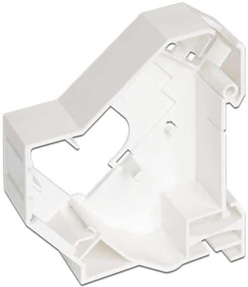 Keystone modulhållare för DIN-skena med namnskylt