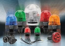 Optiska varningsljus, Blixt/Roterande/Blinkande/Fast
