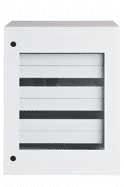 Transparent dörr-vägghängda plåtskåp